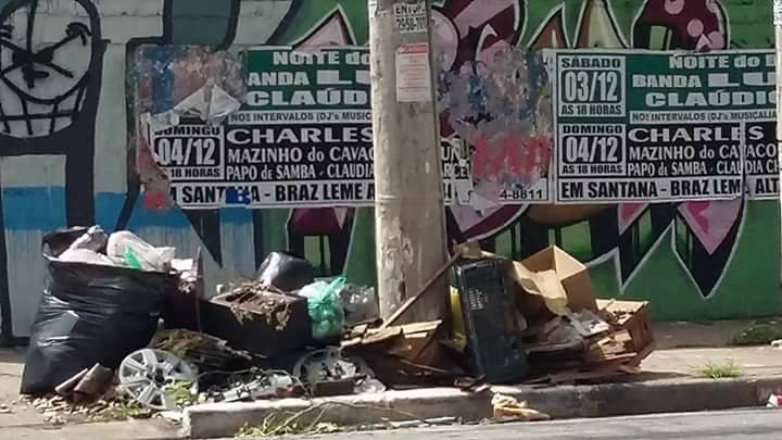 Lixo Casa Verde