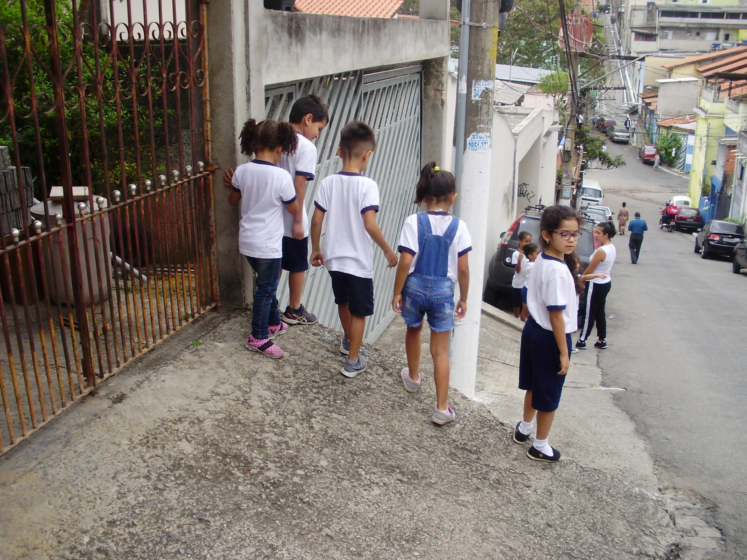 Grupo Emily, Maria Sofia, Ryan e Artur: Degraus para pular