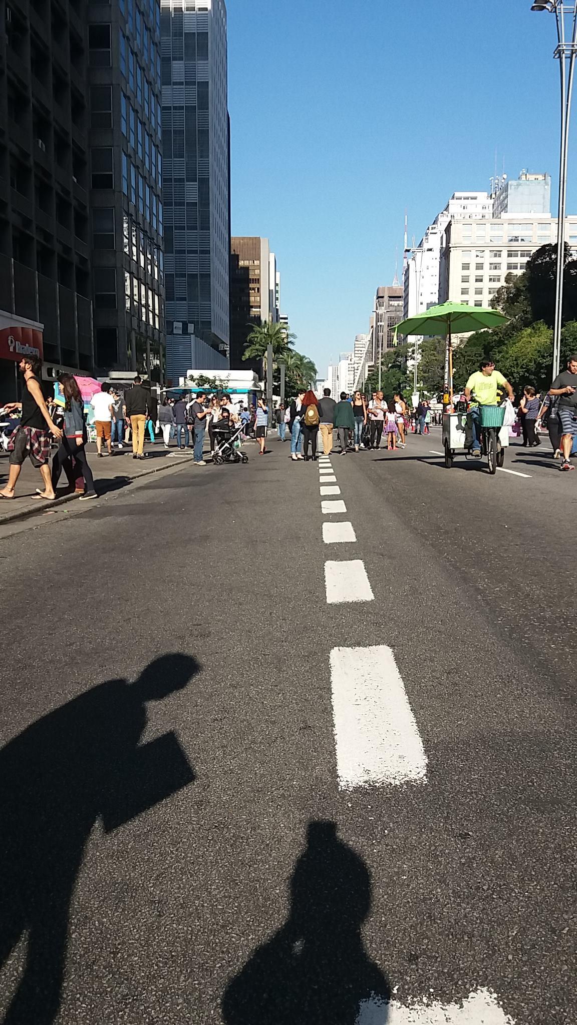 Paulista sem carros