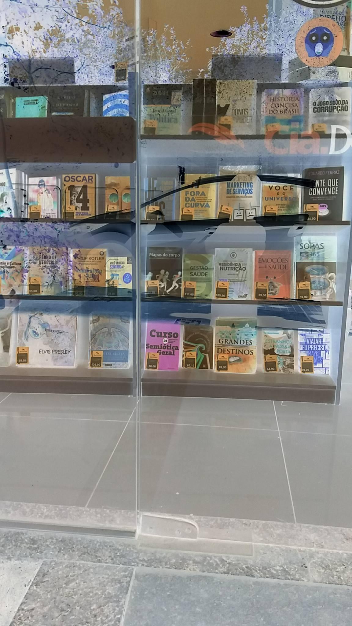 Livrarias e bancas de revista